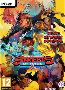 Box art for the game Streets of Rage 4