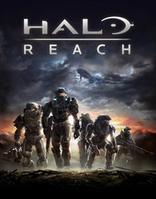 Box art for the game  Halo: Reach Remastered