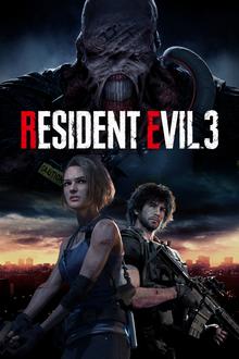 Box art for the game Resident Evil 3 Remake