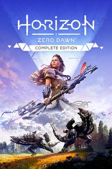 Box art for the game  Horizon Zero Dawn