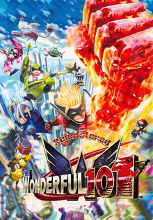 Box art for the game The Wonderful 101: Remastered