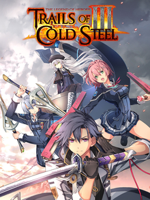 Box art for the game The Legend of Heroes: Trails of Cold Steel III