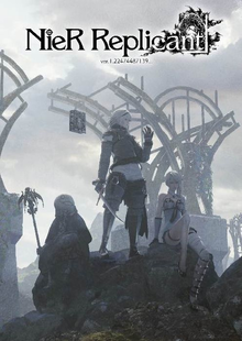 Box art for the game NieR Replicant ver.1.22474487139