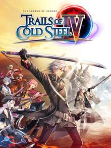 Box art for the game The Legend of Heroes: Trails of Cold Steel IV - The End of Saga