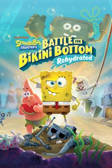 Box art for the game SpongeBob SquarePants: Battle for Bikini Bottom - Rehydrated