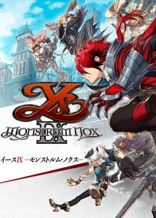 Box art for the game Ys IX: Monstrum Nox