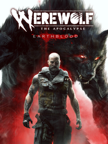 Box art for the game Werewolf: The Apocalypse - Earthblood