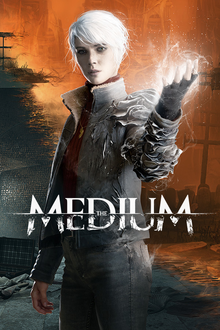 Box art for the game The Medium