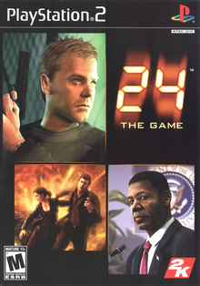 Box art for the game 24: The Game