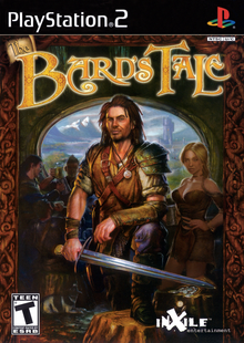 Box art for the game The Bard's Tale