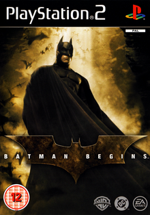 Box art for the game Batman Begins