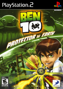 Box art for the game Ben 10: Protector of Earth