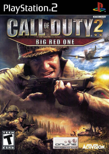 Box art for the game Call of Duty 2: Big Red One