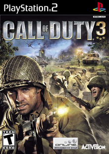 Box art for the game Call of Duty 3