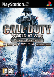 Box art for the game Call of Duty: World at War - Final Fronts