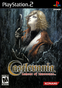 Box art for the game Castlevania: Lament of Innocence