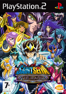 Capa do jogo Saint Seiya: The Hades