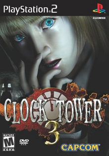 Box art for the game Clock Tower 3