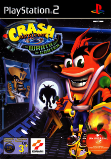 Box art for the game Crash Bandicoot: The Wrath of Cortex