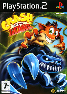 Capa do jogo Crash of the Titans
