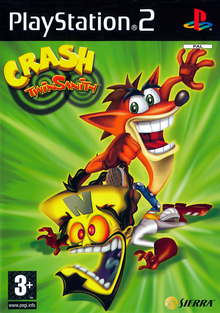 Box art for the game Crash Twinsanity