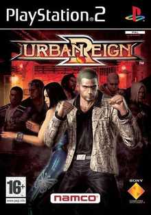 Box art for the game Urban Reign