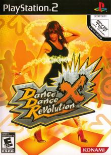 Box art for the game Dance Dance Revolution X