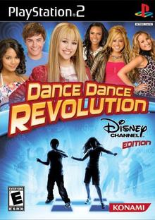 Box art for the game Dance Dance Revolution: Disney Channel Edition