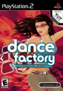 Box art for the game Dance Factory