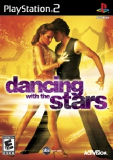 Box art for the game Dancing With The Stars (Game Only Edition)