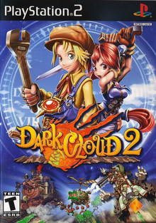 Box art for the game Dark Cloud 2