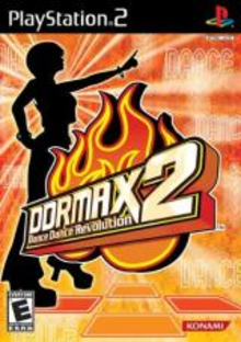 Box art for the game DDRMAX2: Dance Dance Revolution