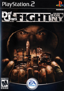 Box art for the game Def Jam: Fight for NY