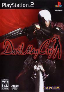 Capa do jogo Devil May Cry