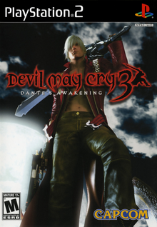 Box art for the game Devil May Cry 3: Dante's Awakening