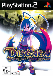 Box art for the game Disgaea: Hour of Darkness