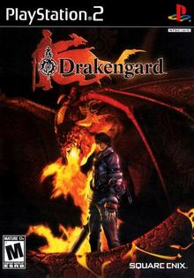 Box art for the game Drakengard