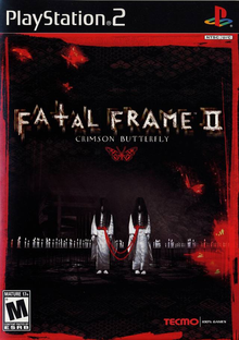Box art for the game Fatal Frame II: Crimson Butterfly
