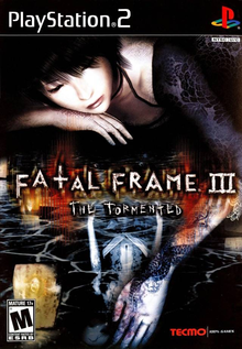 Box art for the game Fatal Frame III: The Tormented