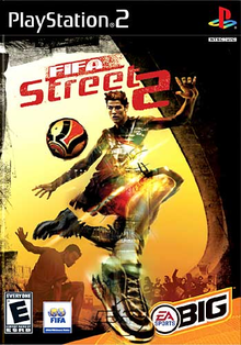 Box art for the game FIFA Street 2