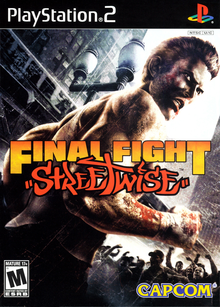 Box art for the game Final Fight: Streetwise
