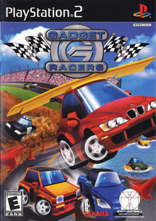 Box art for the game Gadget Racers