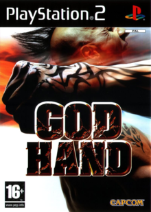 Box art for the game God Hand