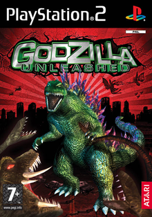 Box art for the game Godzilla: Unleashed