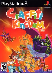 Box art for the game Graffiti Kingdom