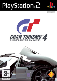 Box art for the game Gran Turismo 4