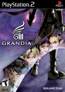Box art for the game Grandia III