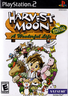 Box art for the game Harvest Moon: A Wonderful Life -Special Edition-