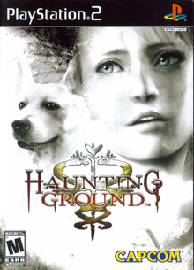 Box art for the game Haunting Ground