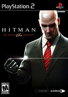 Box art for the game Hitman: Blood Money